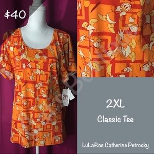 LuLaRoe Collection for Disney Classic T